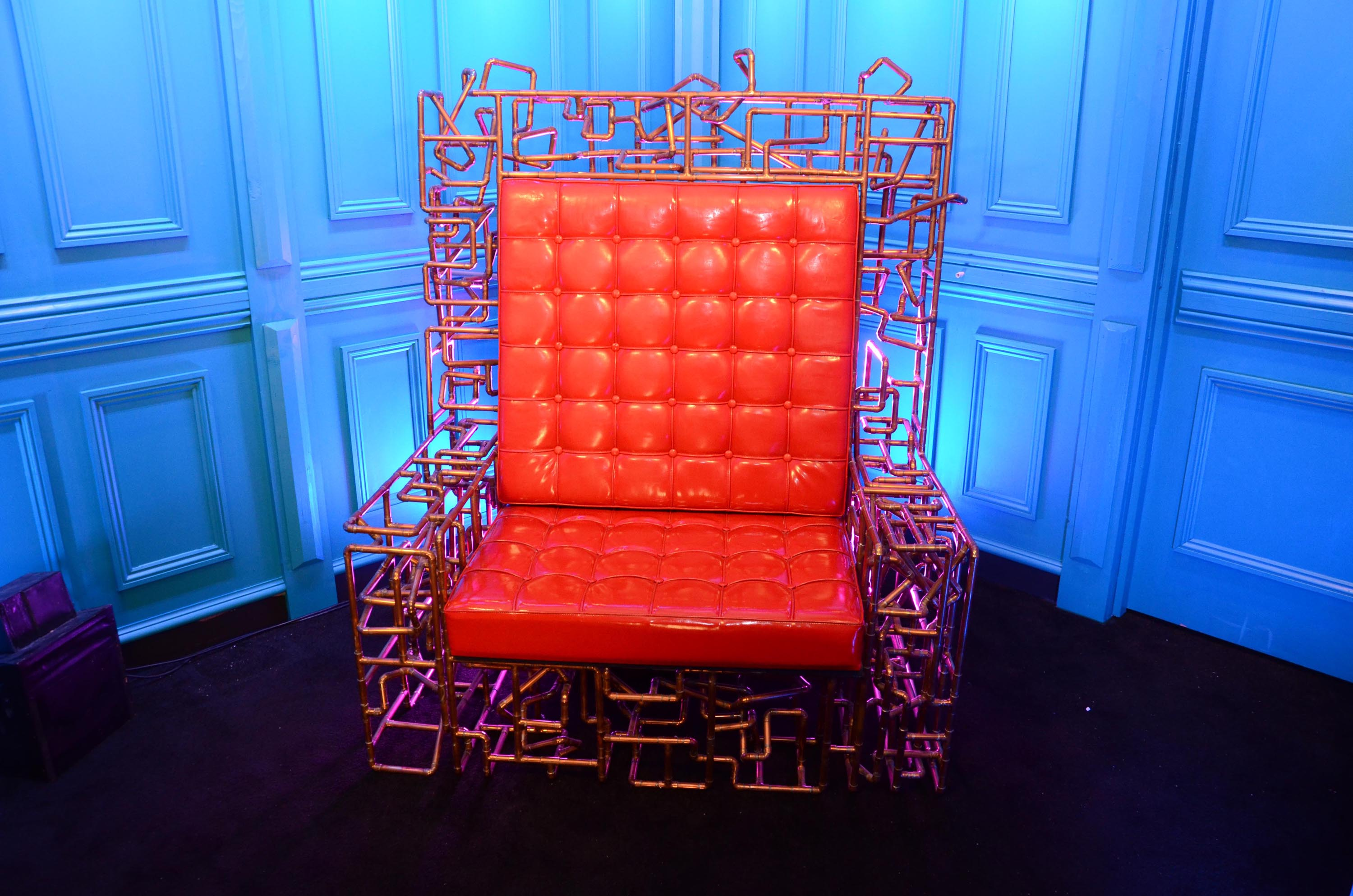 Day -1 Power Trip Diary Room Chair Revealed u2013 Celebrity Big Brother 22 | Big Brother 19 | Big Brother 2018 | Big Brother UK | Channel 5 & Day -1: Power Trip Diary Room Chair Revealed u2013 Celebrity Big Brother ...