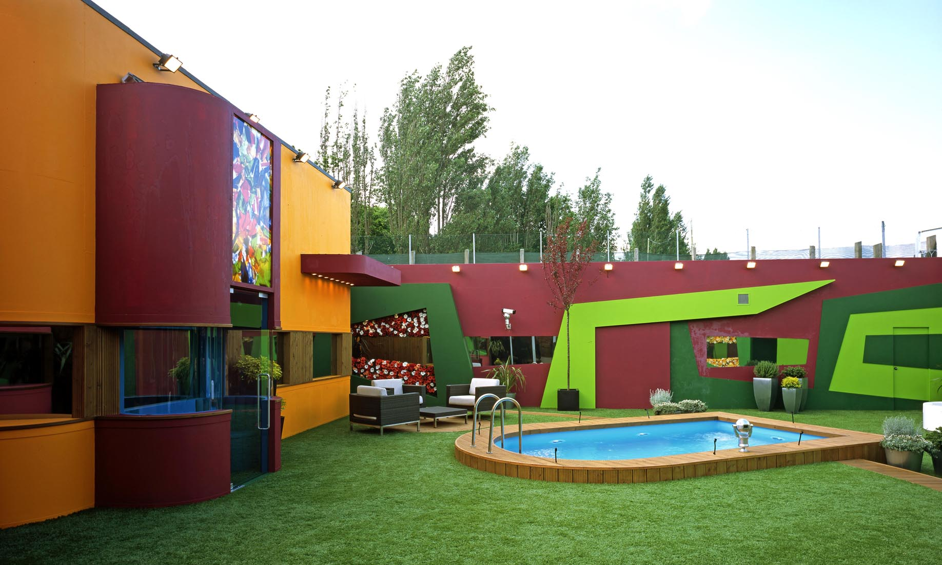 Day 8 Top Five Houses Big Brother House Designs