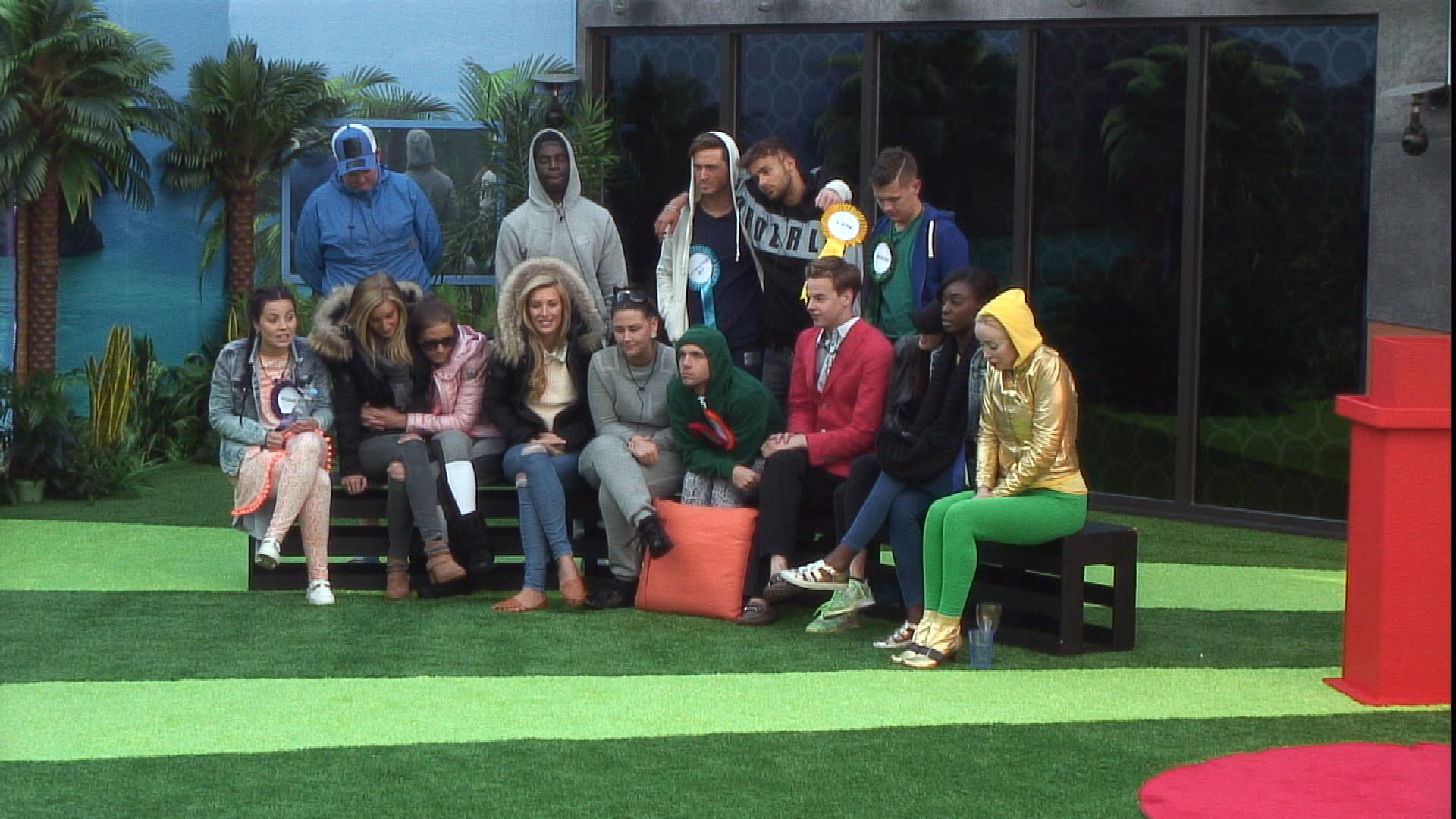Day 8: Housemates react to outside contact in latest task