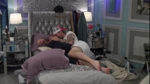 Danny & Sarah in bed