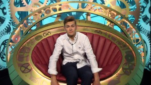 Joel in the diary room