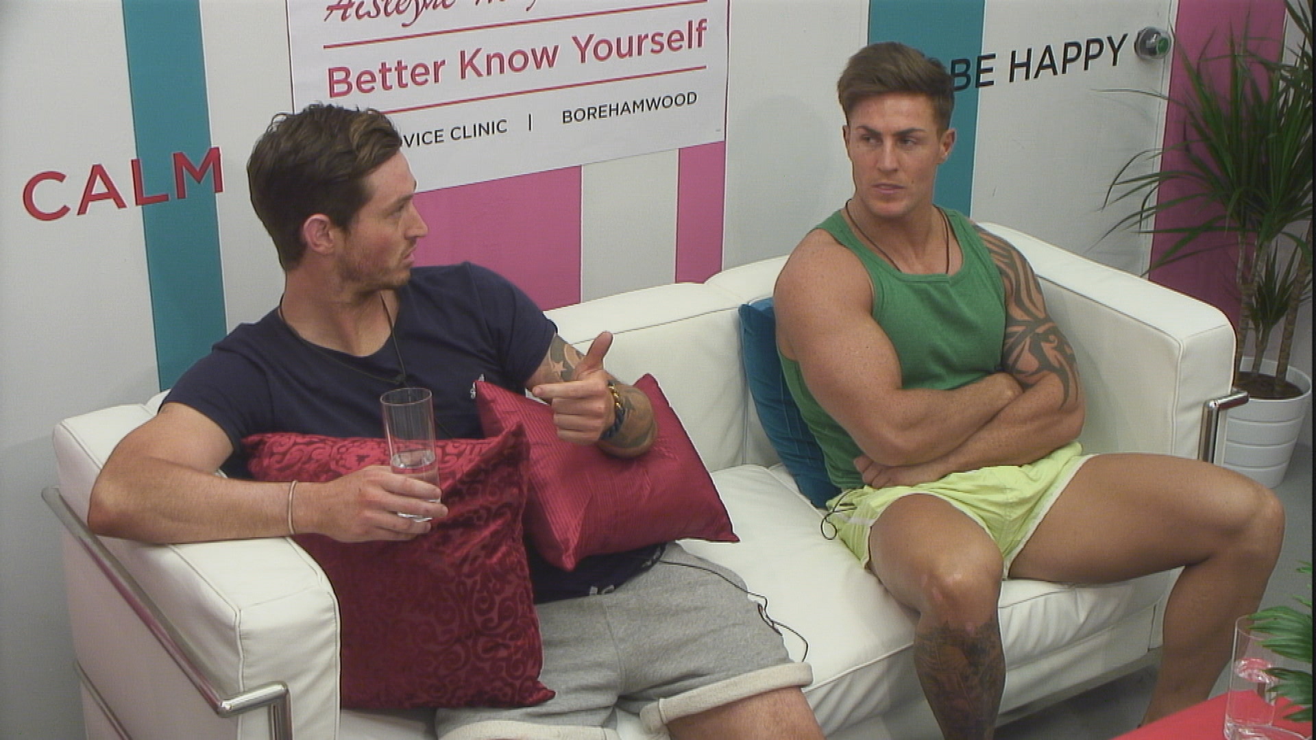 Day 54: Danny and Marc clash in latest Big Brother row