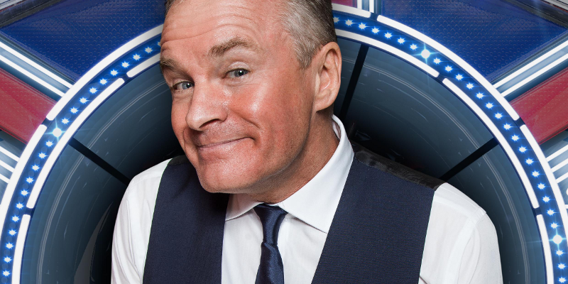 Bobby Davro finishes in fourth place during CBB Final