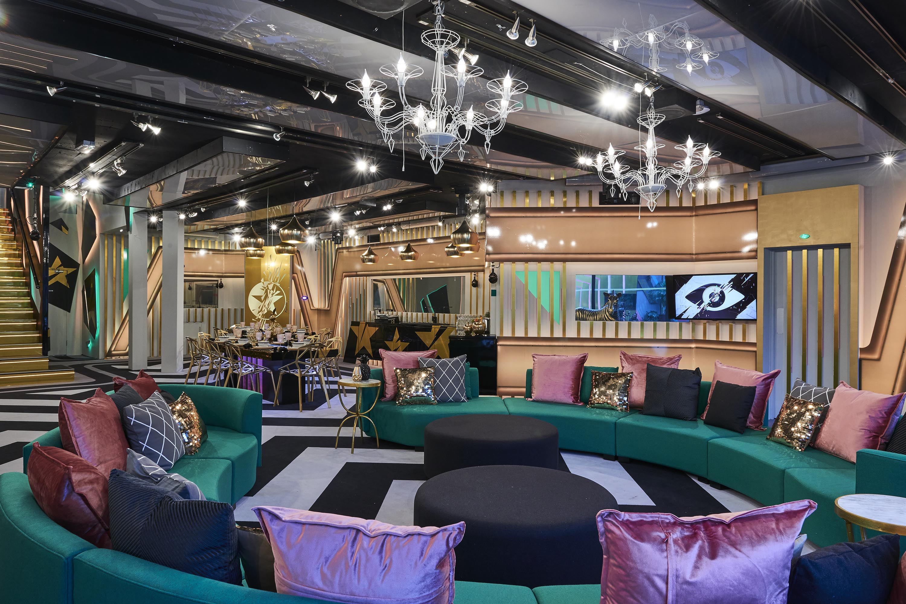 day 1 celebrity big brother house revealed ahead of