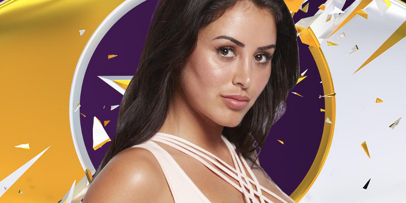 Day 30: Marnie Simpson finishes in fourth place during Celebrity Big Brother final