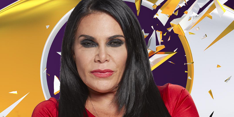 Day 30: Renee Graziano finishes in third place during Celebrity Big Brother final