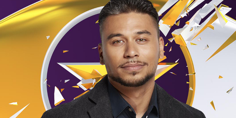 Day 30: Ricky Norwood finishes in second place during Celebrity Big Brother final