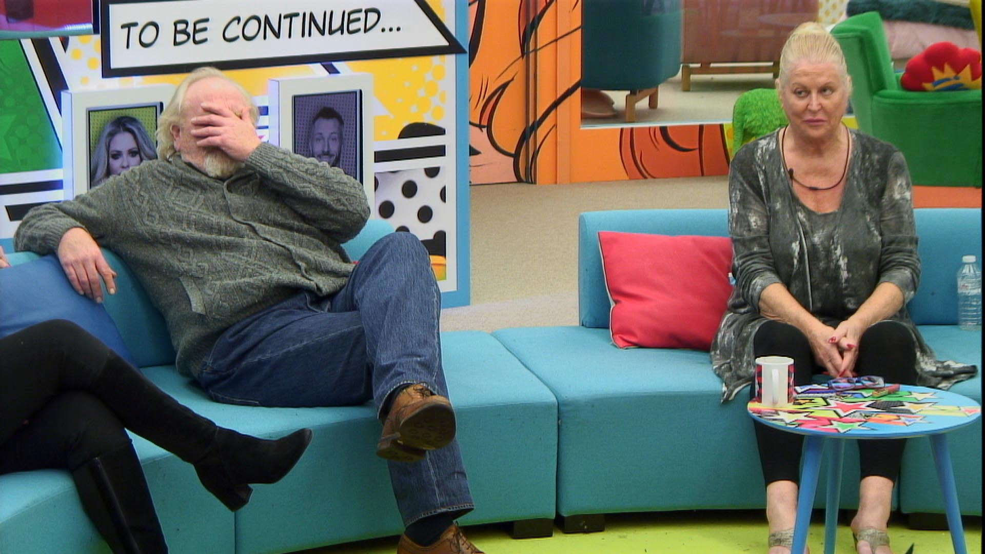Day 29: James and Kim lose their cool with Jedward in latest task