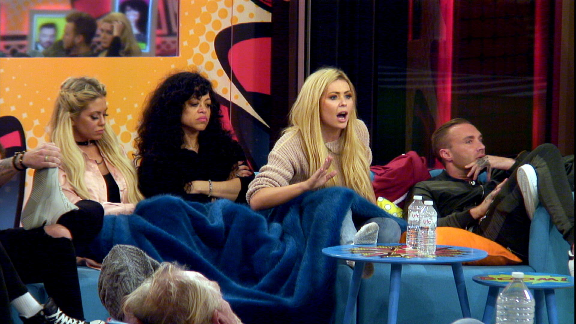 Day 21: Nominations are shown to the Housemates via screen in latest twist