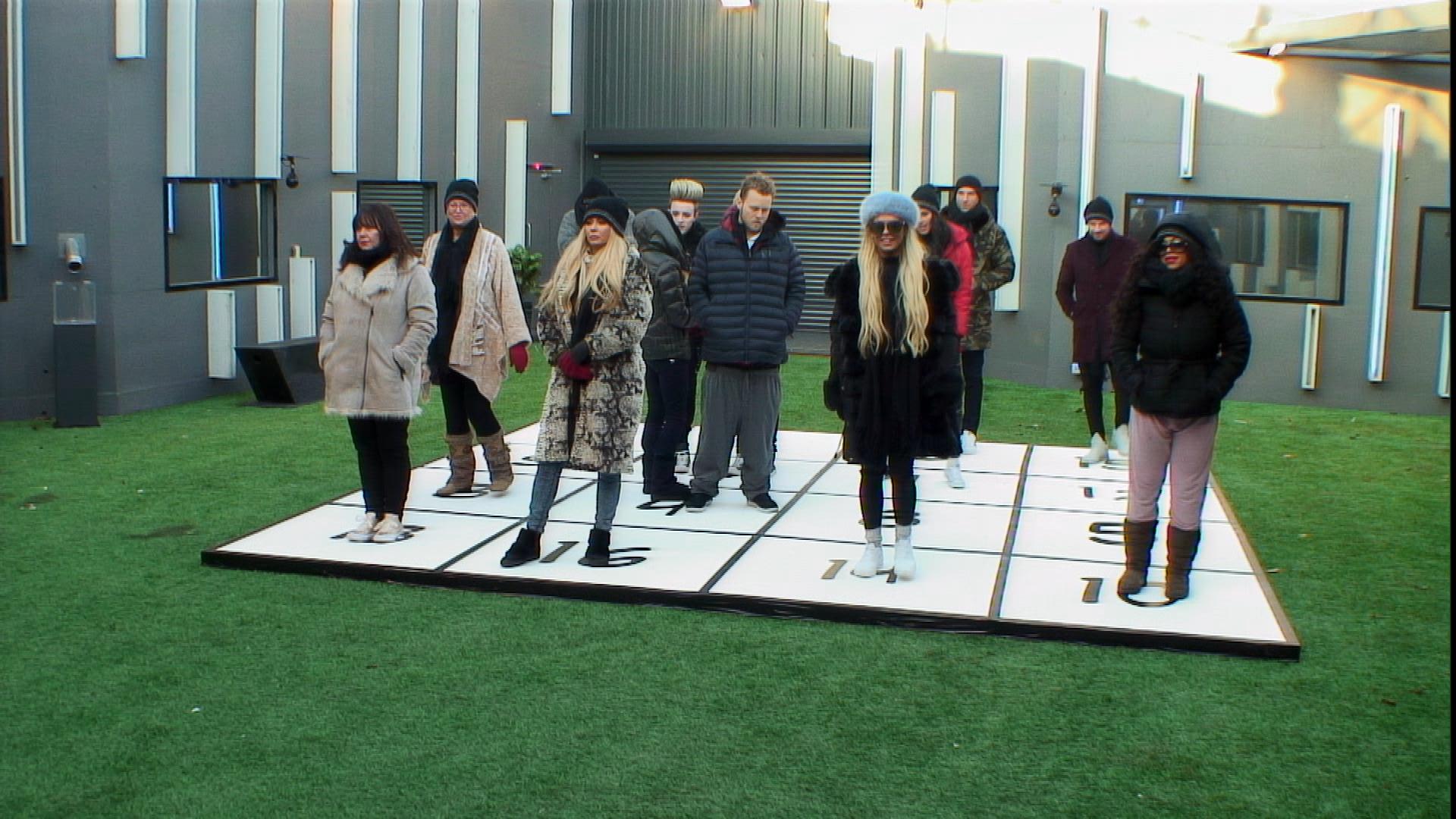 Day 20: Housemates take part in Ball Pit Bingo task