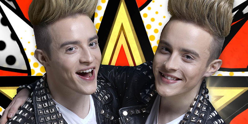 Day 32: Jedward finish in second place place during Celebrity Big Brother Final