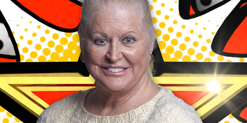 Day 32: Kim Woodburn finishes in 3rd place during Celebrity Big Brother Final